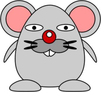 ネズミのイラスト フリーイラスト素材 変な絵net