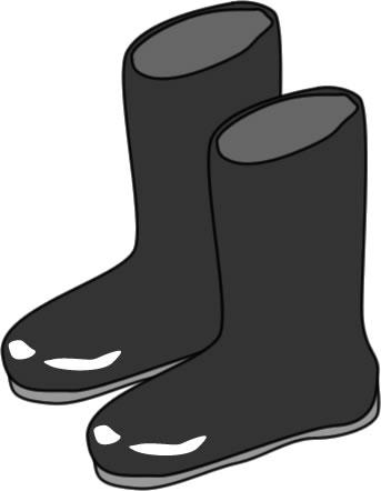 長靴のイラスト|フリー ...