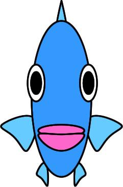 「魚 イラスト 正面」の画像検索結果